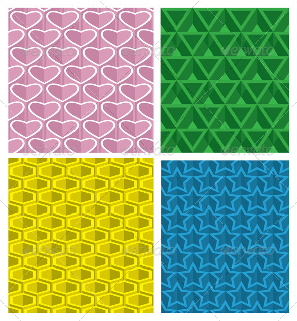 GraphicRiver Seamless Pattern Set 5056940