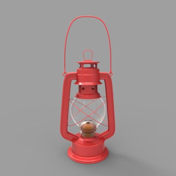 3DOcean Old Gas Oil Lamp 3 5057129