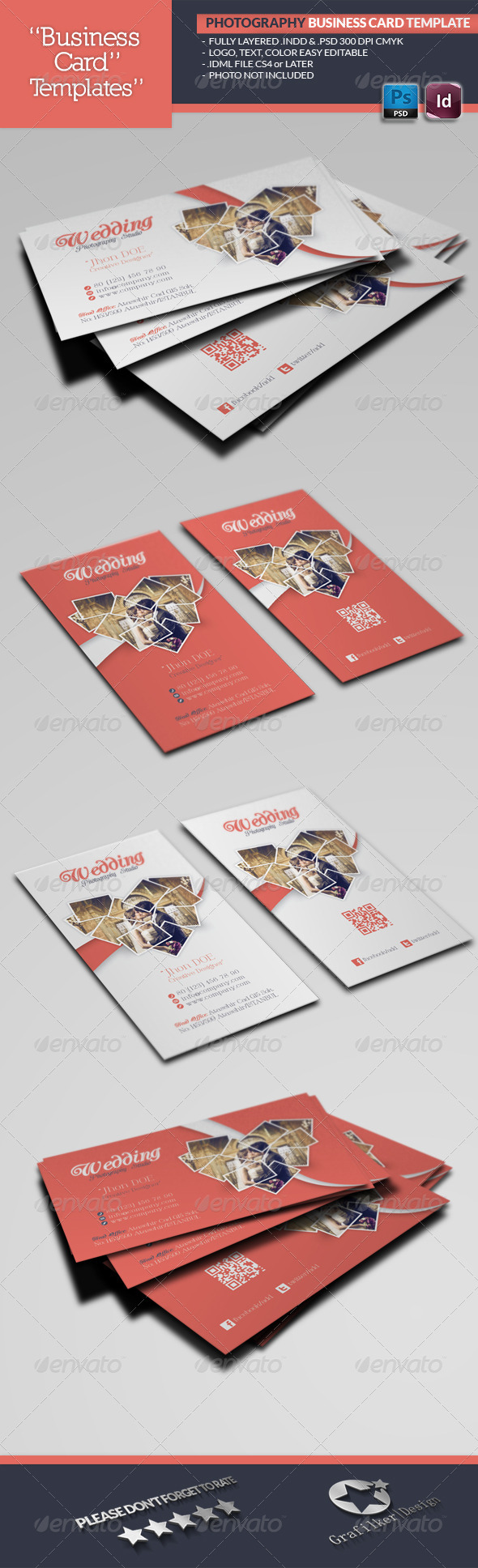 GraphicRiver Photography Business Card Template 5057132