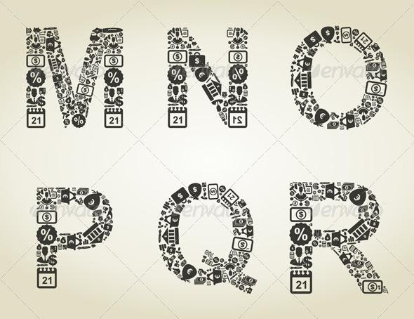 GraphicRiver Alphabet Business 4 5057136