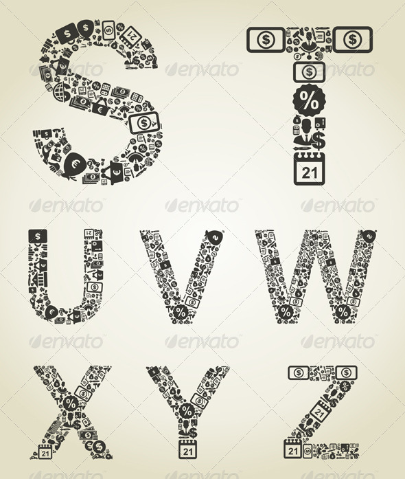 GraphicRiver Alphabet Business 5 5057152