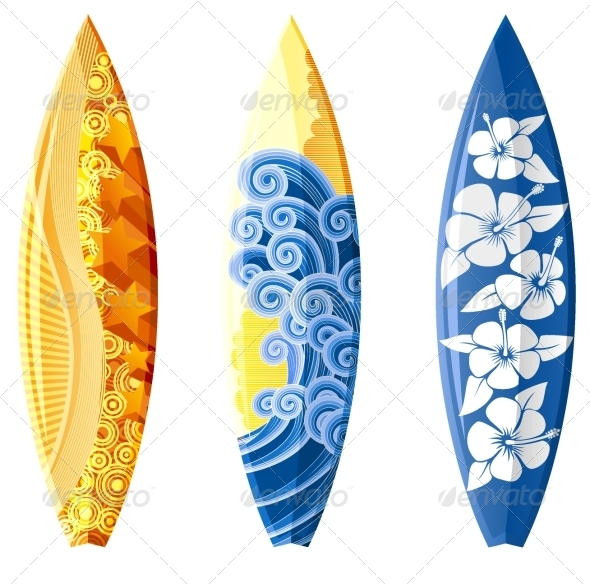 GraphicRiver Surfboards 5057211