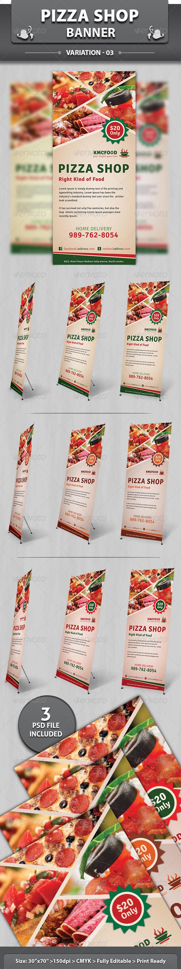 GraphicRiver Pizza Shop Banner V2 5057683