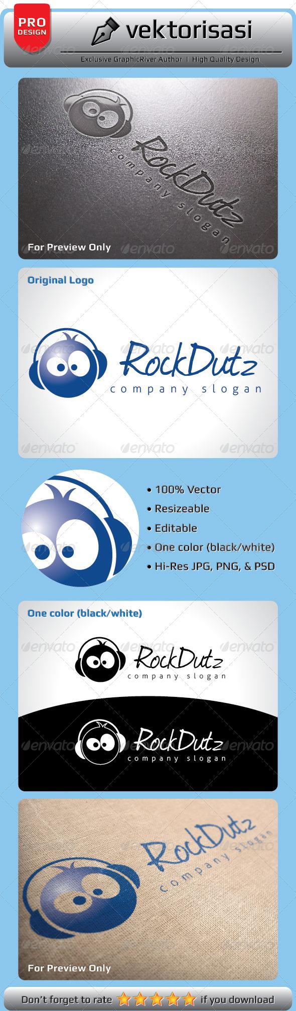 GraphicRiver RockDutz Logo 5057697
