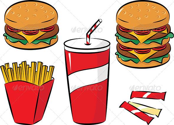 GraphicRiver Fast Food 5058290