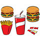 Fast Food - GraphicRiver Item for Sale
