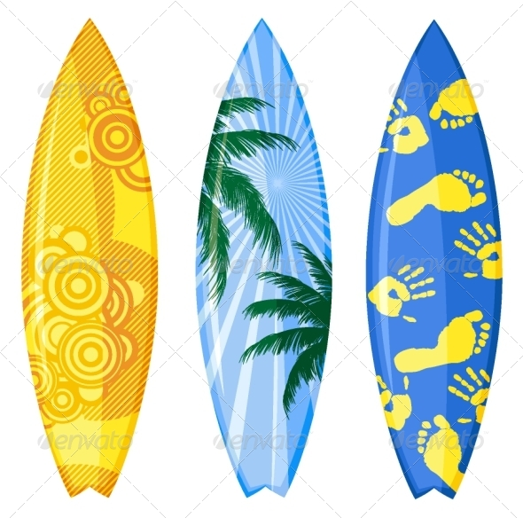 GraphicRiver Surfboards 5058295