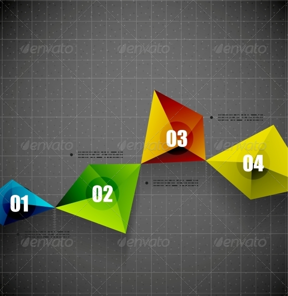 GraphicRiver Modern Geometrical Shape Template 5058518