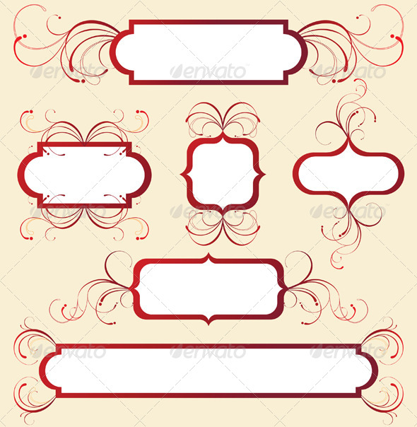 GraphicRiver Frames Set 5058978