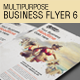 Multipurpose Business Flyer 6 - GraphicRiver Item for Sale
