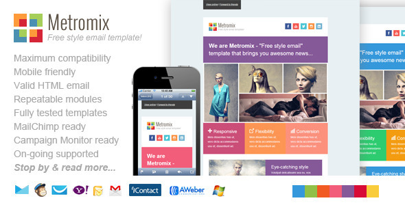 ThemeForest Metromix Responsive Email Template 5059776