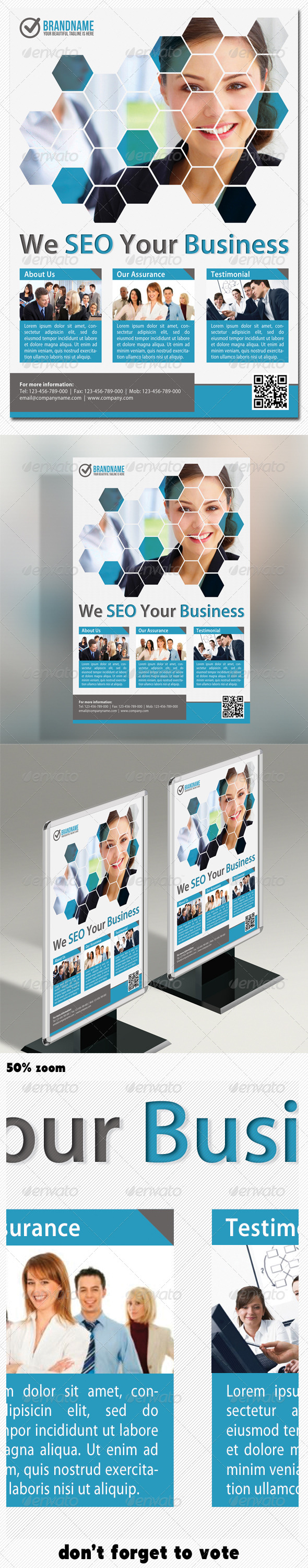 Corporate Product Flyer 02 - Corporate Flyers