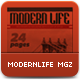 Modern Life Multipurpose Magazine - GraphicRiver Item for Sale