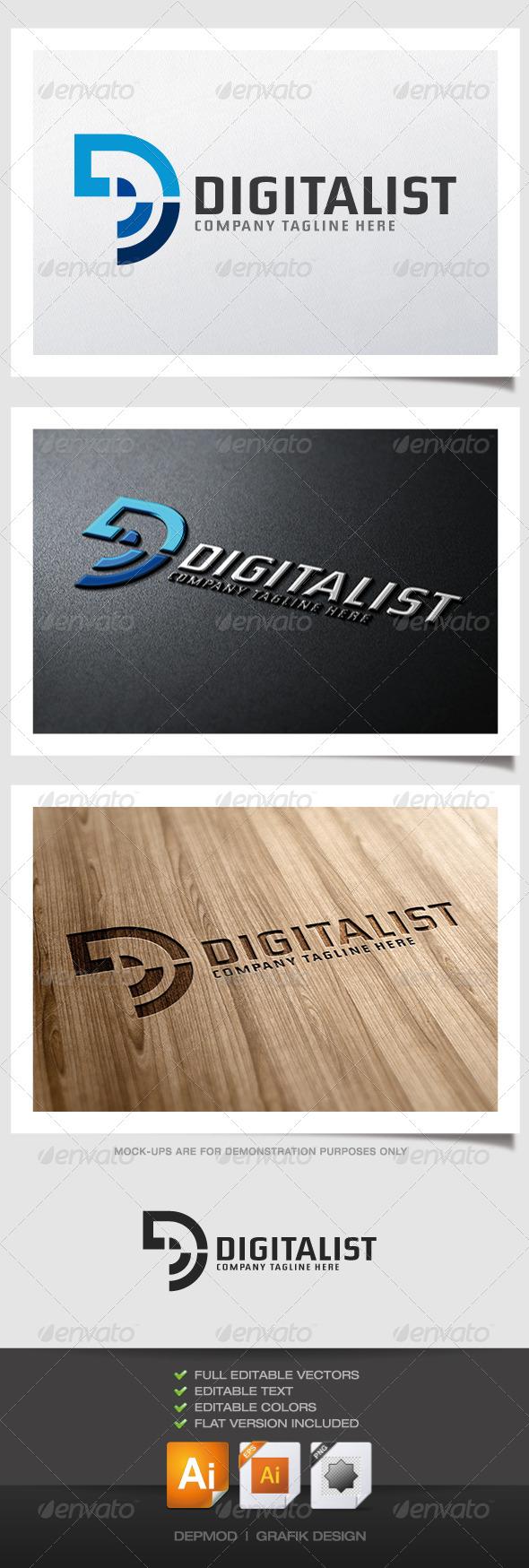GraphicRiver Digitalist Logo 5060205