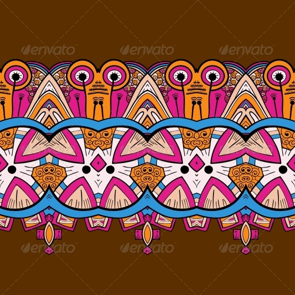 GraphicRiver Horizontal Lace Steampunk Ornament 5060215