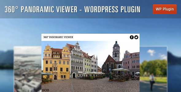 CodeCanyon 360Ўг Panoramic Viewer WordPress Plugin 5054590