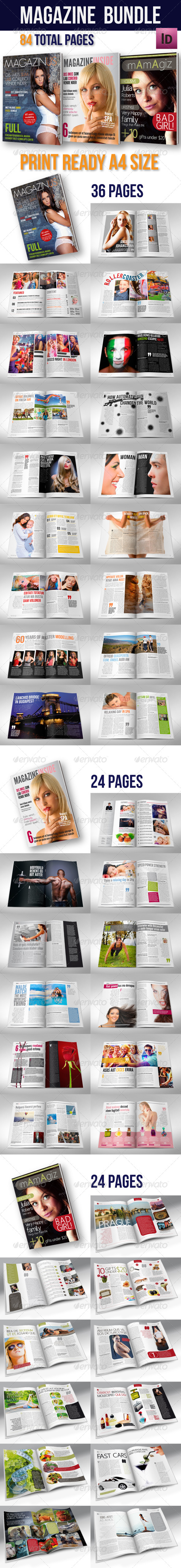 GraphicRiver Magazine Bundle 01 5060823