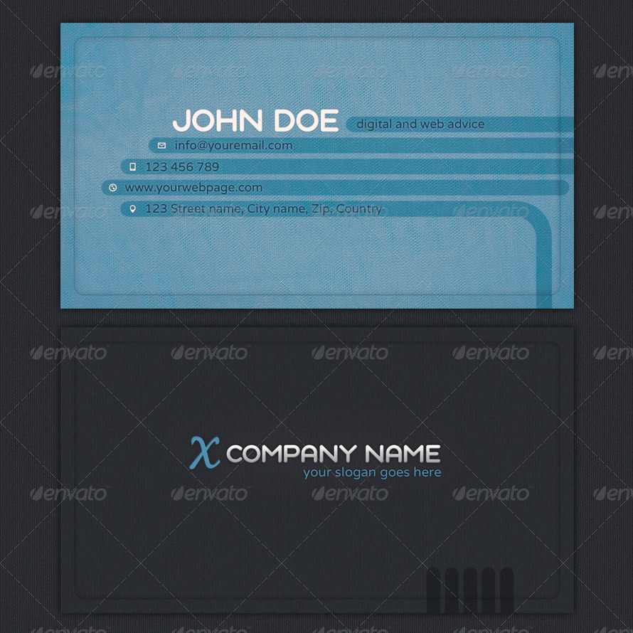 positive networking business cards by sargatal graphicriver 01 orange positive networking business cards jpg