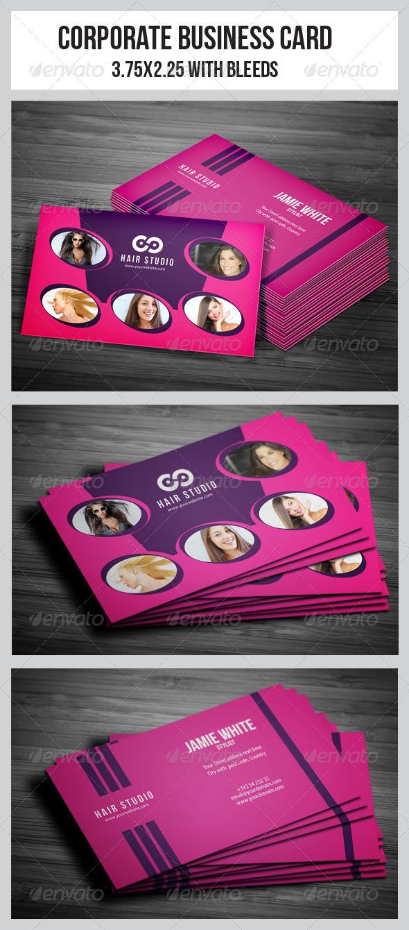 GraphicRiver Salon Business Card 4985375