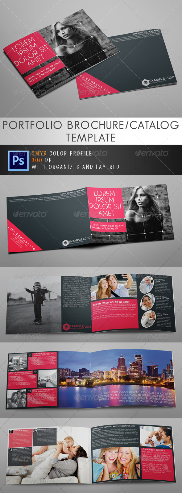 GraphicRiver Multipurpose A5 Business Brochure Vol.1 5061607