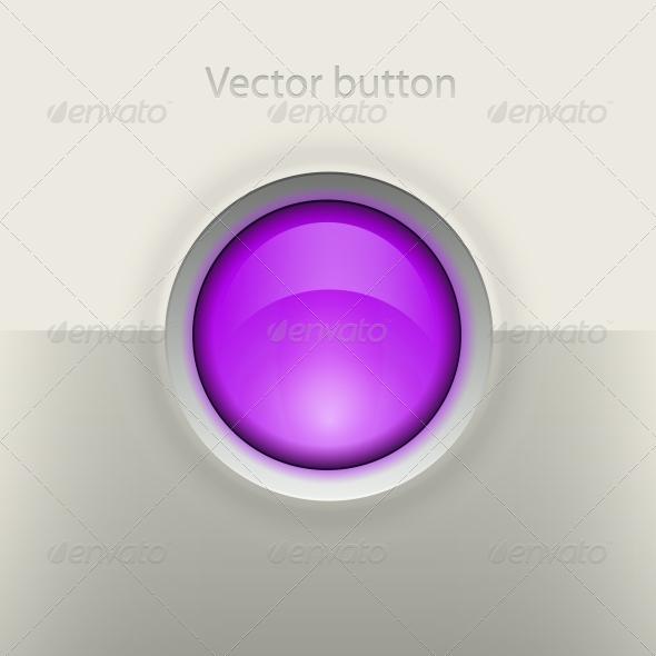 GraphicRiver Glossy Empty Button 5061758