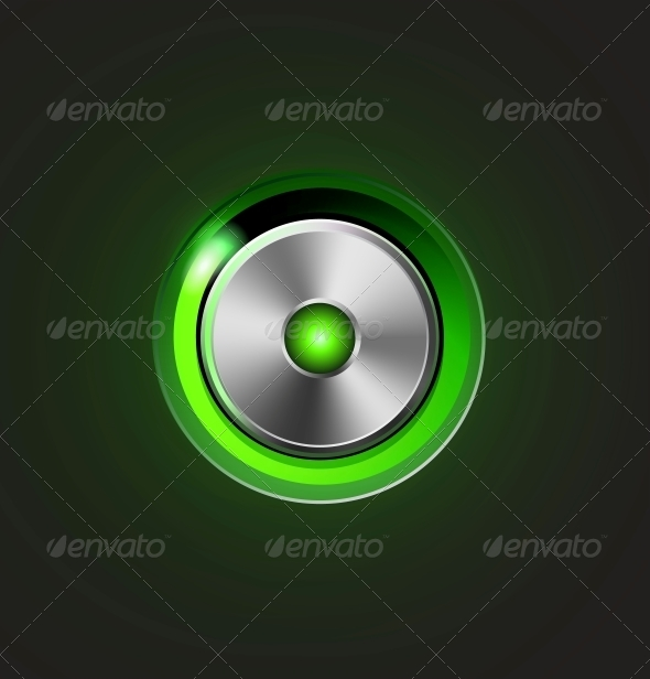 GraphicRiver Glossy Media Player Metal Button 5061772