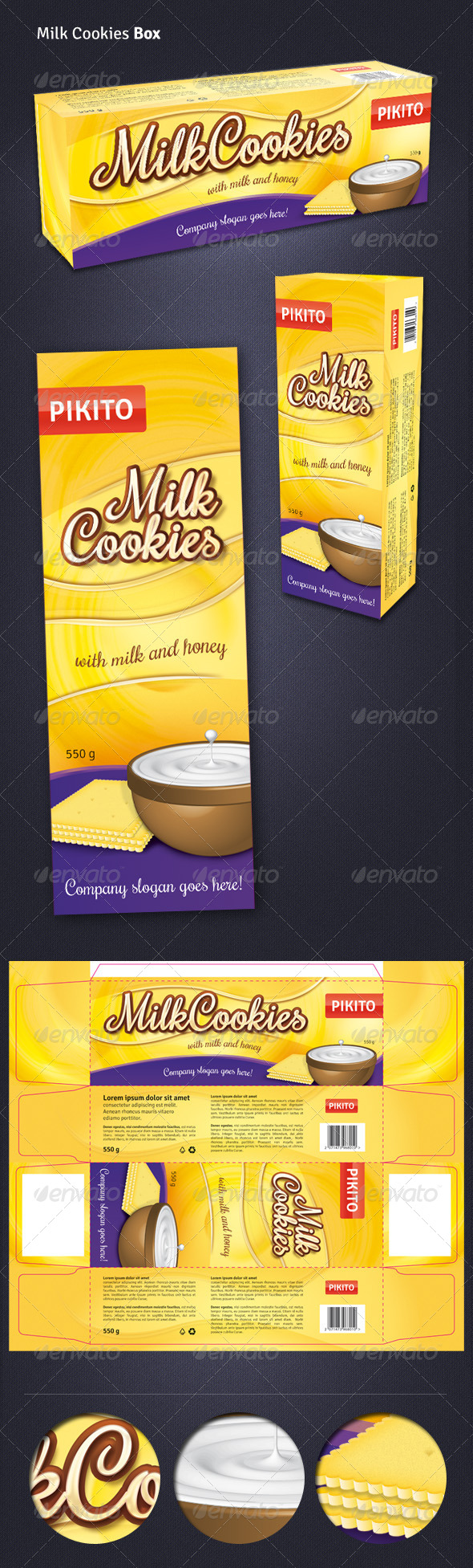 GraphicRiver Cookies Box 5061790