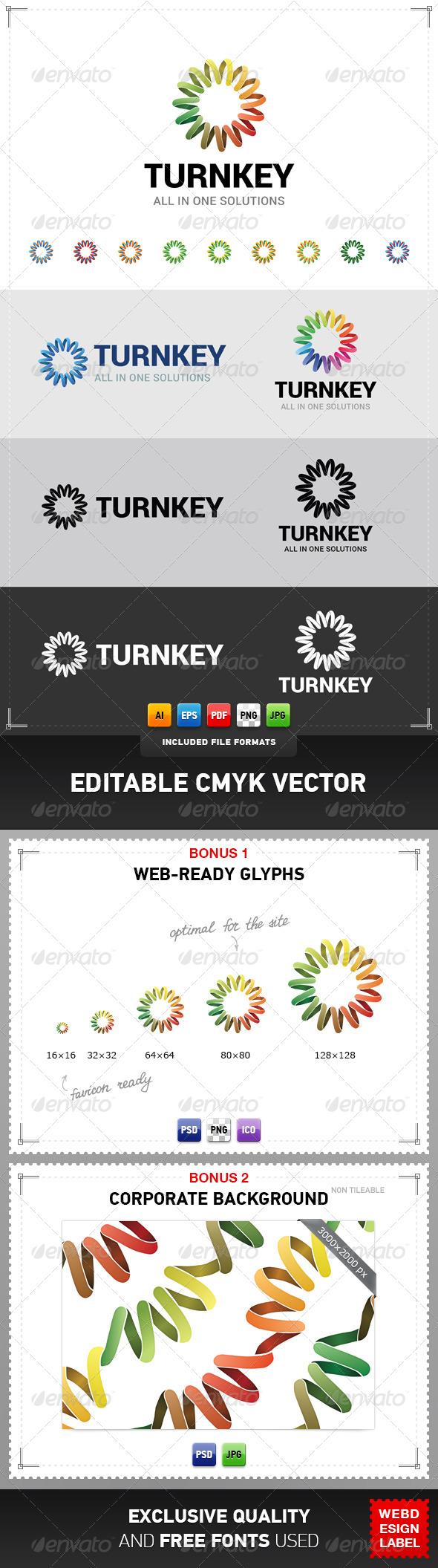 GraphicRiver Turnkey Logo 5061793