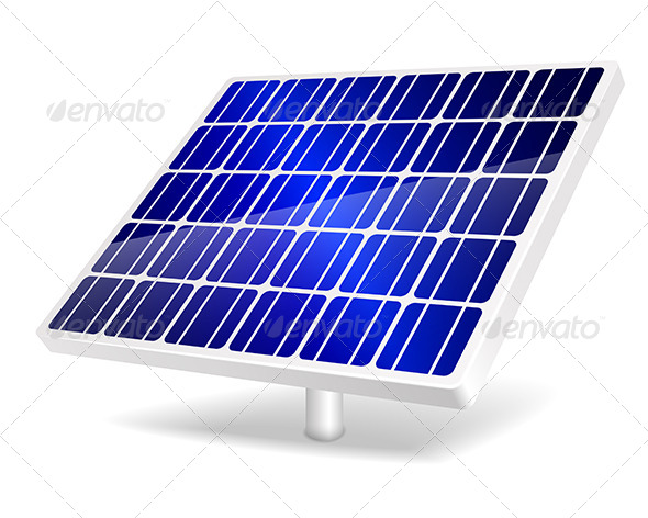 GraphicRiver Solar Panel Icon 5061890