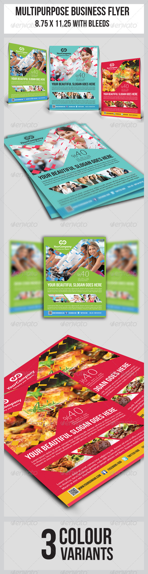 GraphicRiver Multipurpose Business Flyer 5062357