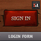 Epic Login | Web Form - GraphicRiver Item for Sale