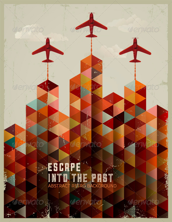 GraphicRiver Escape into the Past 5062571