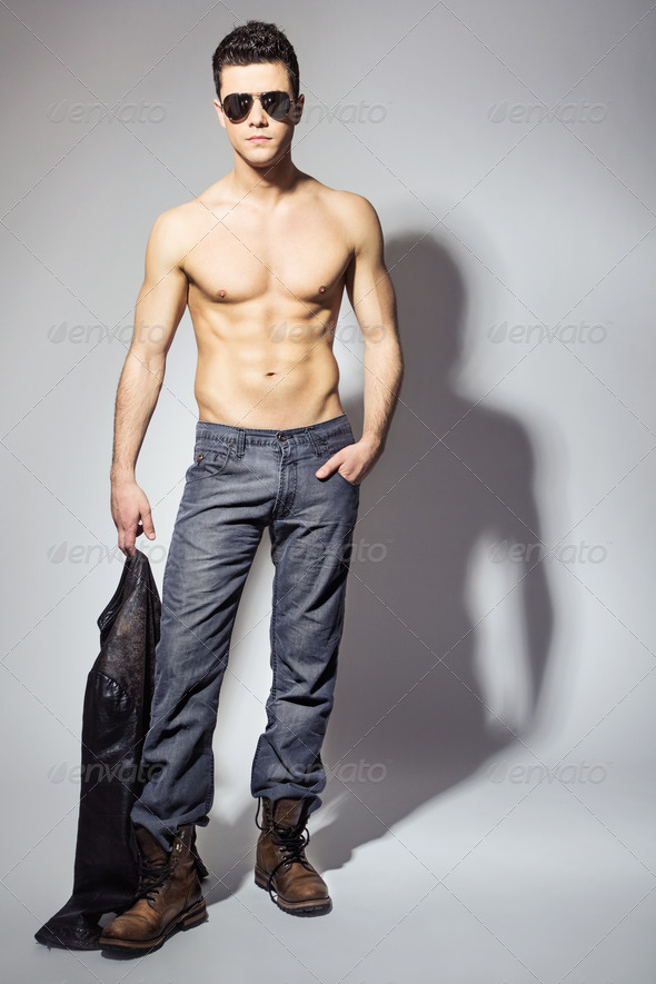 Handsome and irresistible young man - Stock Photo - Images
