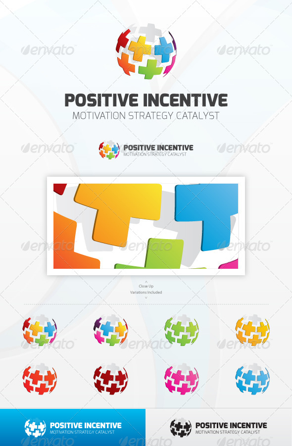 GraphicRiver Positive Incentive Logo 5063026