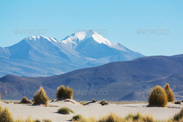 Mountains in Bolivia - Stock Photo - Images