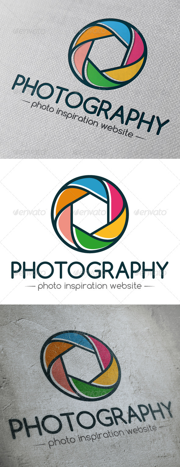 GraphicRiver Photography Logo Template 5064436