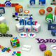 Social Media 3D Icons and Logos (Part 2)