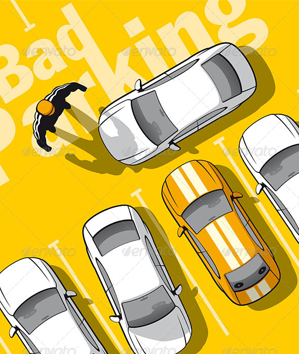 GraphicRiver Bad Parking 5064505