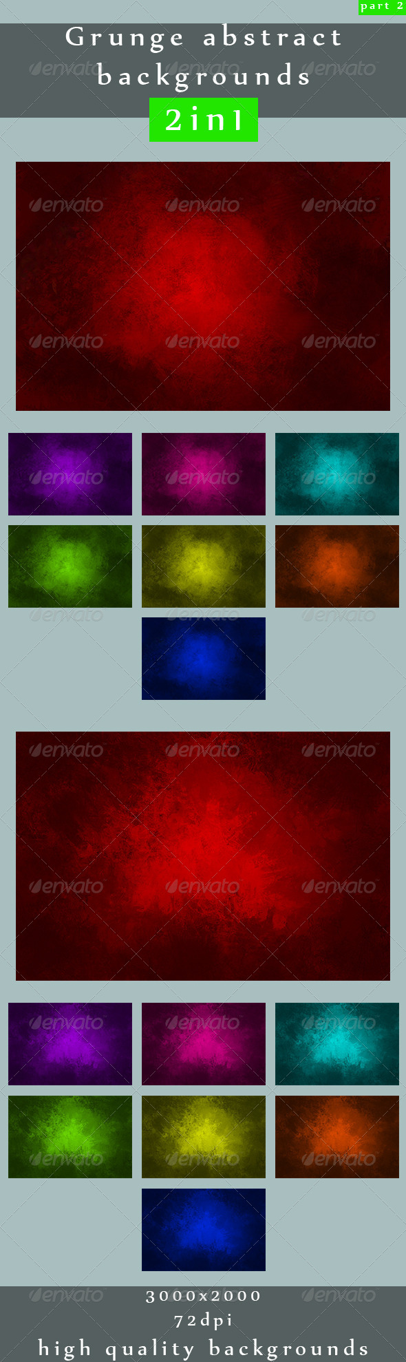 GraphicRiver Grunge abstract backgrounds 2in1 2 5064538