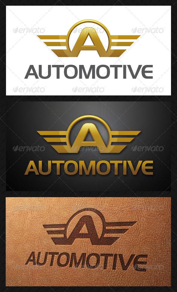 Automotive Letter A Logo Template