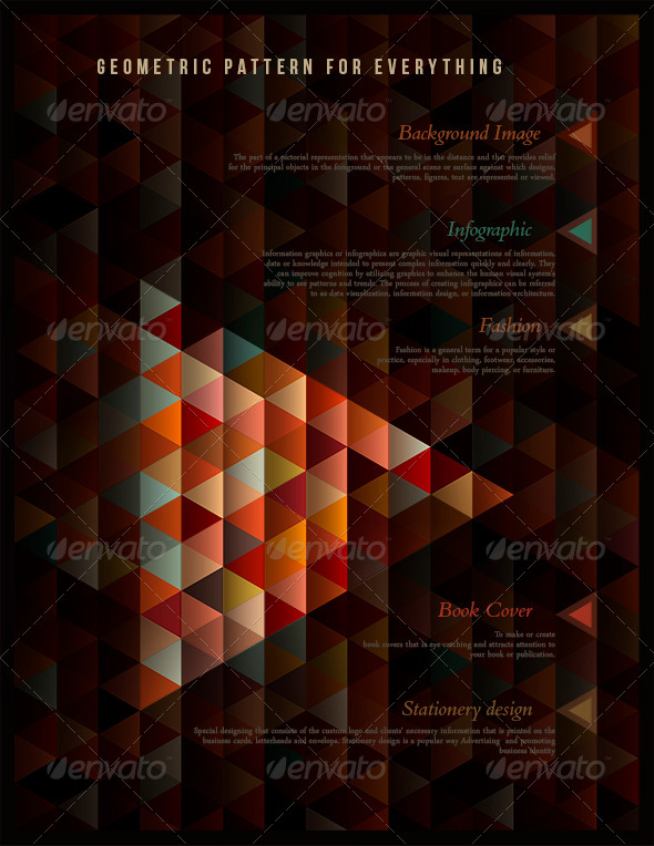 Geometric Pattern for Everything - Backgrounds Decorative