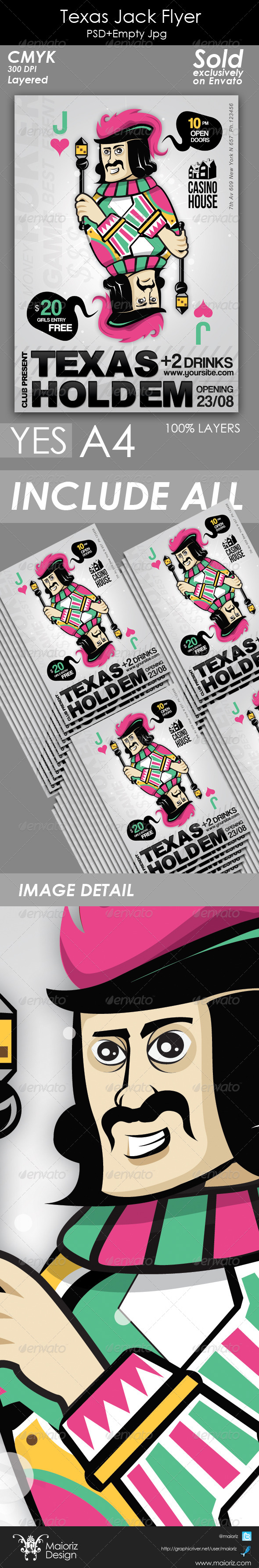 GraphicRiver Texas Jack Flyer Event 5066265