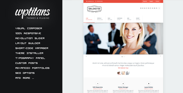 ThemeForest Unlimited Flexible Responsive Business Theme 5061757