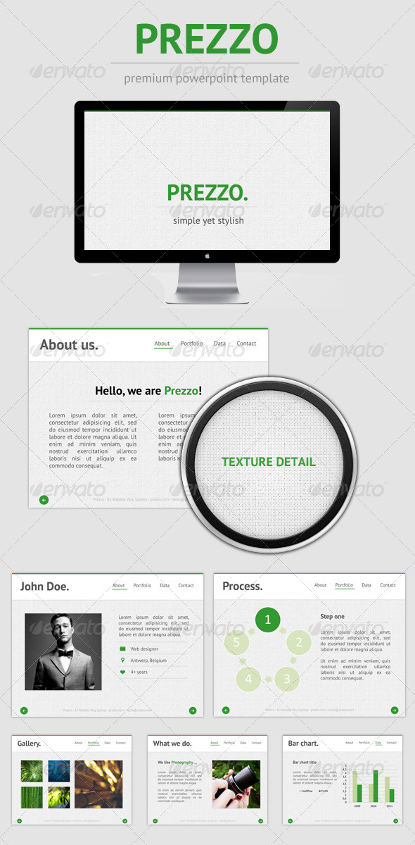GraphicRiver Prezzo Premium PowerPoint Template 5006723