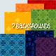Set of Seven Backgrounds - GraphicRiver Item for Sale