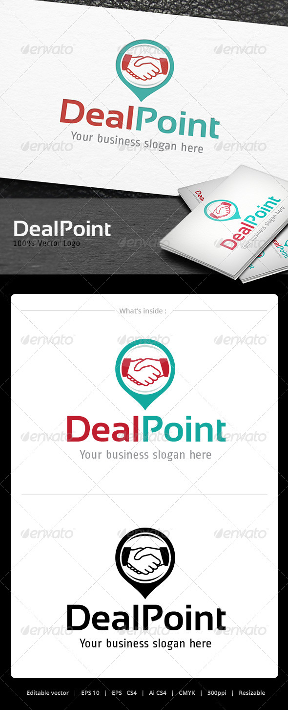 GraphicRiver Deal Point Logo 5066931