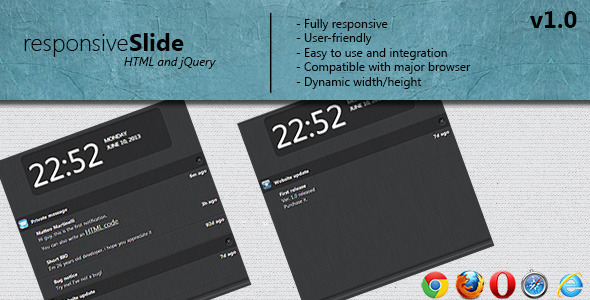 CodeCanyon responsive Slide notification 4936790