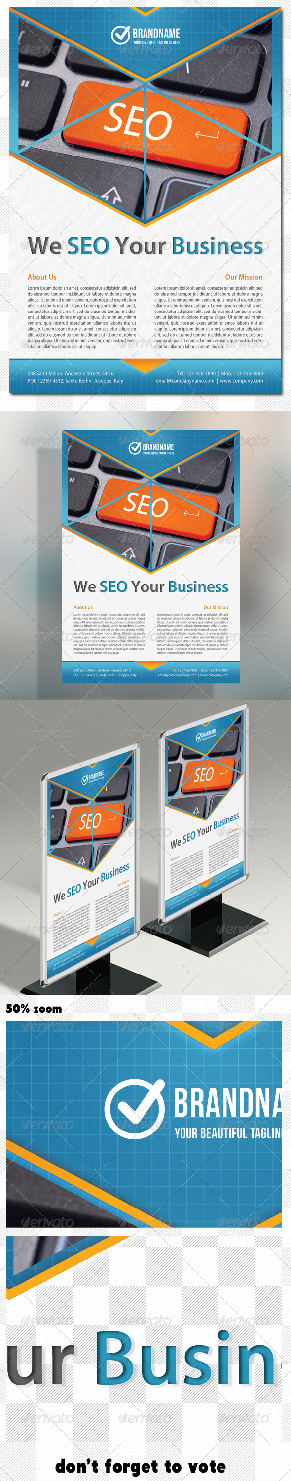 GraphicRiver Corporate Product Flyer 05 5067047