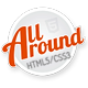 All Around - Responsive Rounded HTML5/CSS3 Theme - ThemeForest Item for Sale