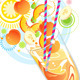 Smoothie Yellow Fruit - GraphicRiver Item for Sale